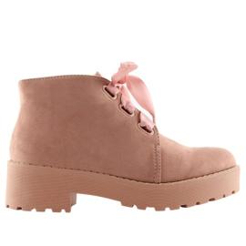 -de-rosa Botas para mulheres rosa LL219 Pink