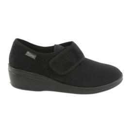 Sapatos femininos Befado pu 033D002 preto