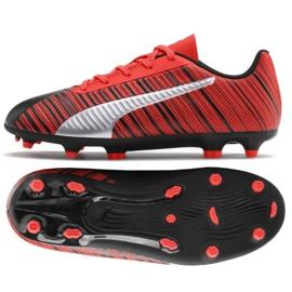 Puma One 5,4 Fg Ag M 105660 01 sapatos vermelho