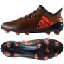 Sapatos Adidas X 17.1 Fg M S82288 preto e vermelho preto, vermelho
