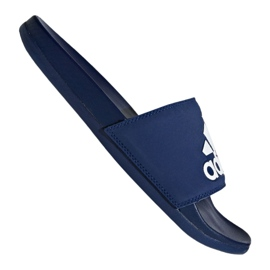 Azul Chinelos Adidas Adilette Comfort Plus M B44870