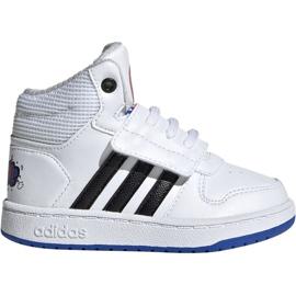Branco Sapatilhas Adidas Hoops Mid 2.0 I Jr EE8551