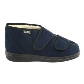 Sapatos femininos Befado pu 986M010 marinha