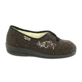 Befado sapatos femininos pu 940D356 marrom