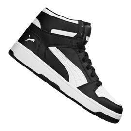 Preto Sapatilhas Puma Rebound LayUp Jr 370486 01 sapatos