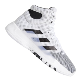 Sapatilhas Adidas Pro Bounce Madness 2019 M BB9235 branco branco