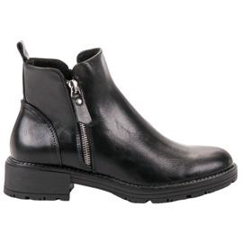 Vinceza Botas de tornozelo baixas preto