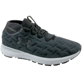 Tênis Under Armour Charged Reactor Run M 1298534-100 preto