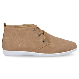 Marrom Sapatos elegantes de altura 3569 Camel
