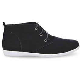 Sapatos elegantes altos 3569 Preto