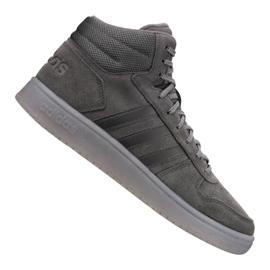 Cinza Sapatilhas Adidas Hoops 2.0 Mid M B44635