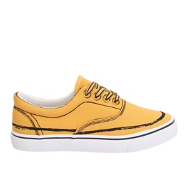 Amarelo Tênis feminino BS103 Amarelo
