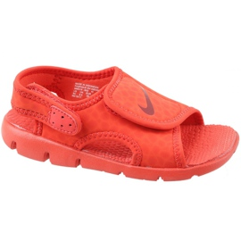 Vermelho Sandálias Nike Sunray Adjust 4 Ps Jr 386518-603