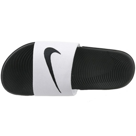 Chinelos Nike Kawa Slide Gs / Ps 819352-100 branco