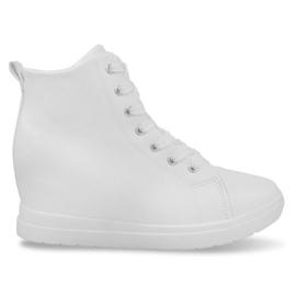 Tênis simples elegantes GFA97 Branco