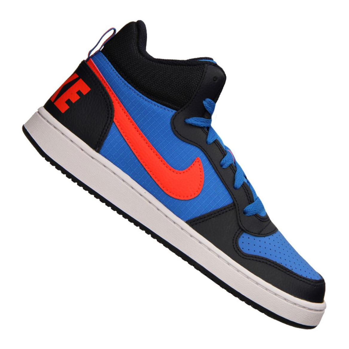 Sapatilhas Nike Court Borough Mid Jr 839977 403