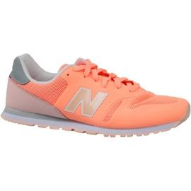 Laranja Sapatos New Balance em KD373CRY