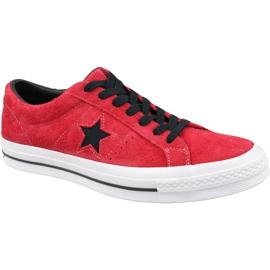 Converse One Star M 163246C sapatos vermelho