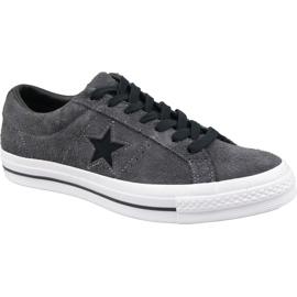 Converse Uma Estrela Sapatos M 163247C cinza