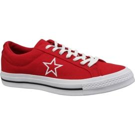 Converse sapatos One Ox Star M 163378C vermelho