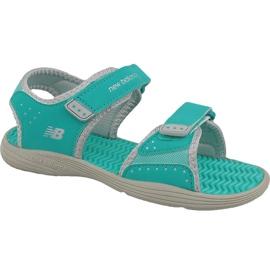 Verde New Balance Jr K2004GRG sandálias azuis