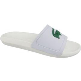 Chinelos Lacoste Croco Slide 119 1 M 737CMA0018082 branco
