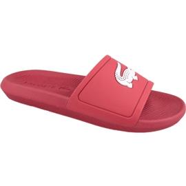 Chinelos Lacoste Croco Slide 119 1 M 737CMA001817K vermelho