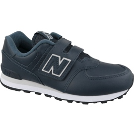 New Balance YV574ERV Jr sapatos azul marinho