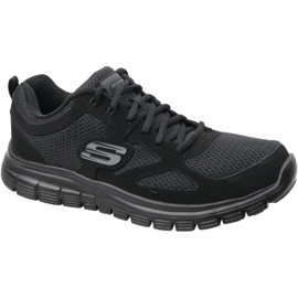 Sapatos Skechers Burns M 52635-BBK preto