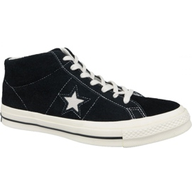 Sapatilhas Converse One Star Ox Mid Vintage Suede M 157701C preto