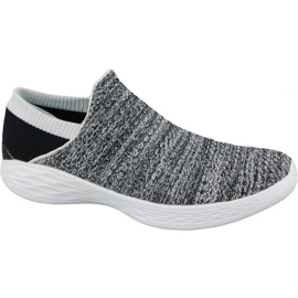 Sapatos Skechers You W 14951-WBK cinza