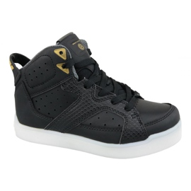 Sapatilhas Skechers E-Pro Street Quest Lights Jr 90615L-BLK preto