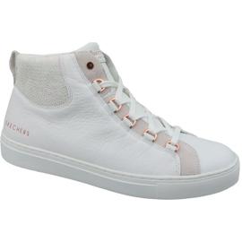 Branco Sapatilhas Skechers Side Street Core Hi W 73581-WHT