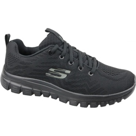 Preto Sapatos Skechers Graceful Get Connected W 12615-BBK