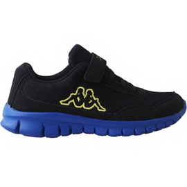 Preto Sapatos Kappa Follow Bc Kids 260634K 1160