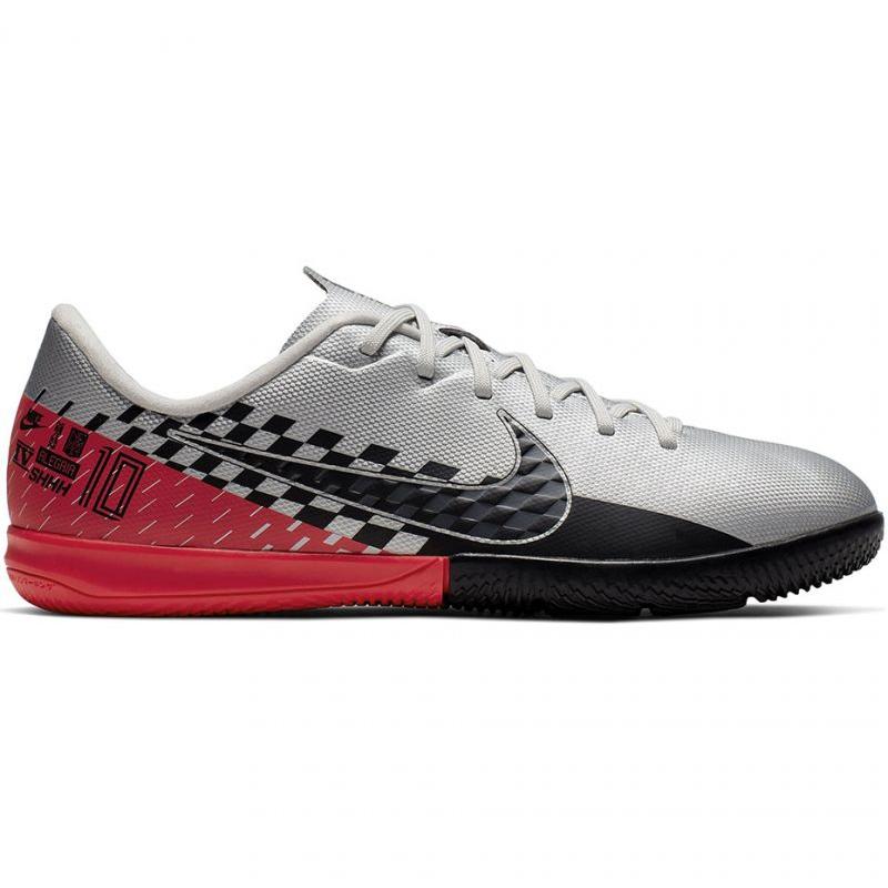 Tênis Nike Mercurial Vapor 13 Academy Neymar Ic Jr AT8139 006 cinza cinza prata