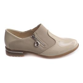 Marrom Sapatos clássicos slip-on 15312 Bege