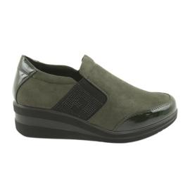 Sapatos de cunha Sergio Leone 225 olive