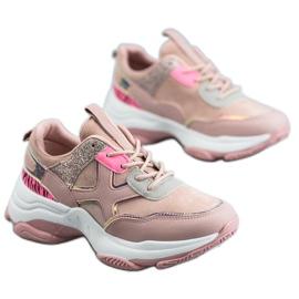 SHELOVET Sapatos Esportivos Elegantes -de-rosa