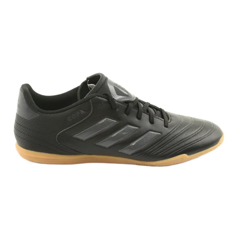 Sapatos de interior adidas Copa Tango 18.4 IN preto