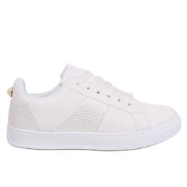 Branco X93 Tênis feminino branco