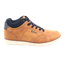 Sapatos masculinos Lee Cooper 19-29-031 camel