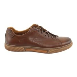 Marrom Riko 893 sapatos desportivos castanhos