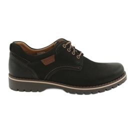 Riko sapatos masculinos 858 preto