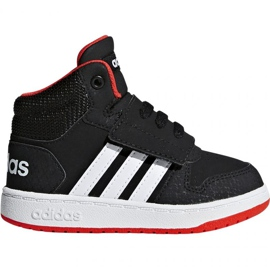 Preto Sapatilhas Adidas Hoops Mid 2.0 I Jr B75945