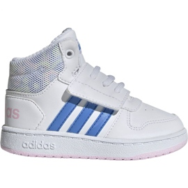 Branco Sapatilhas Adidas Hoops Mid 2.0 I Jr EE8550