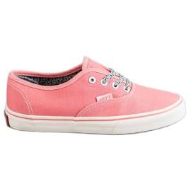 SHELOVET -de-rosa Tênis confortáveis