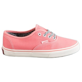 SHELOVET Tênis confortáveis -de-rosa