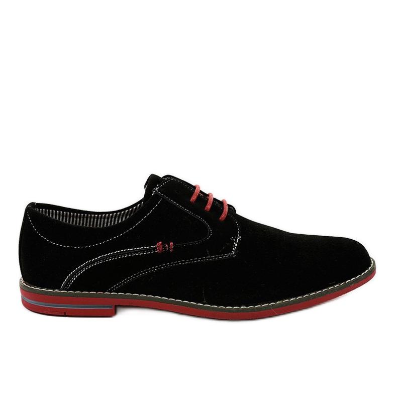 Sapatos elegantes pretos 6-688