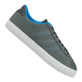 Cinza Sapatos Adidas Vl Court Vulc M AW3927